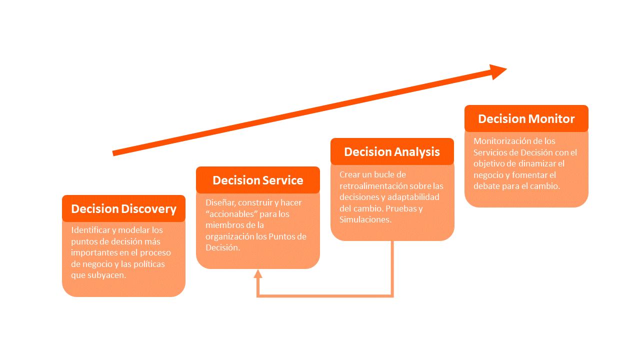 Las fases del Decision Management